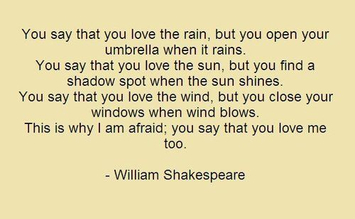 Awesome Shakespeare On Love