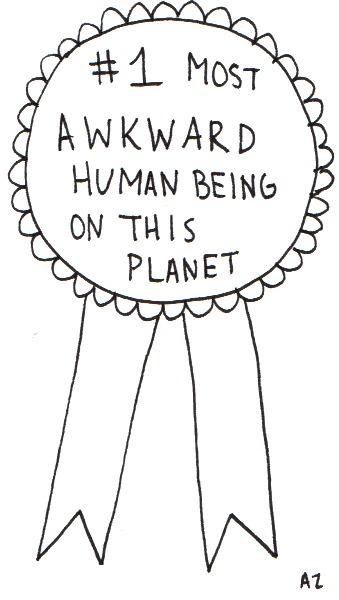 awkward award by AZ