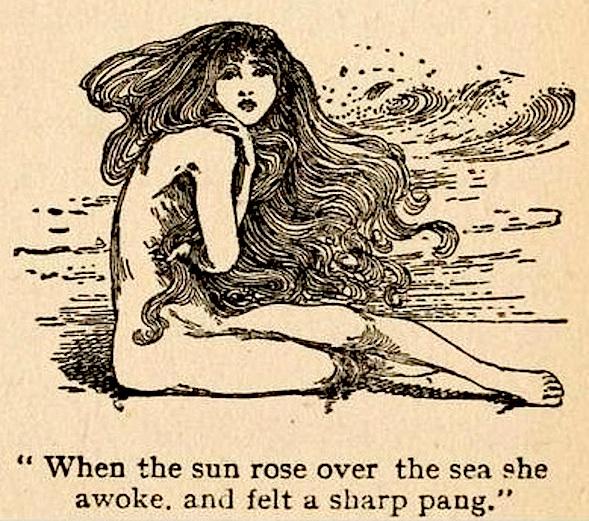 little mermaid - helen stratton