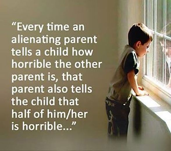 parental alienation consequences