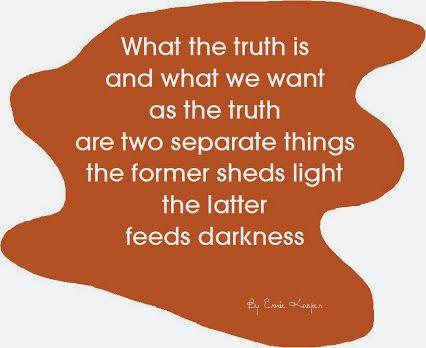 Truth versus Truth