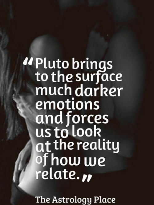 Pluto - astrology place