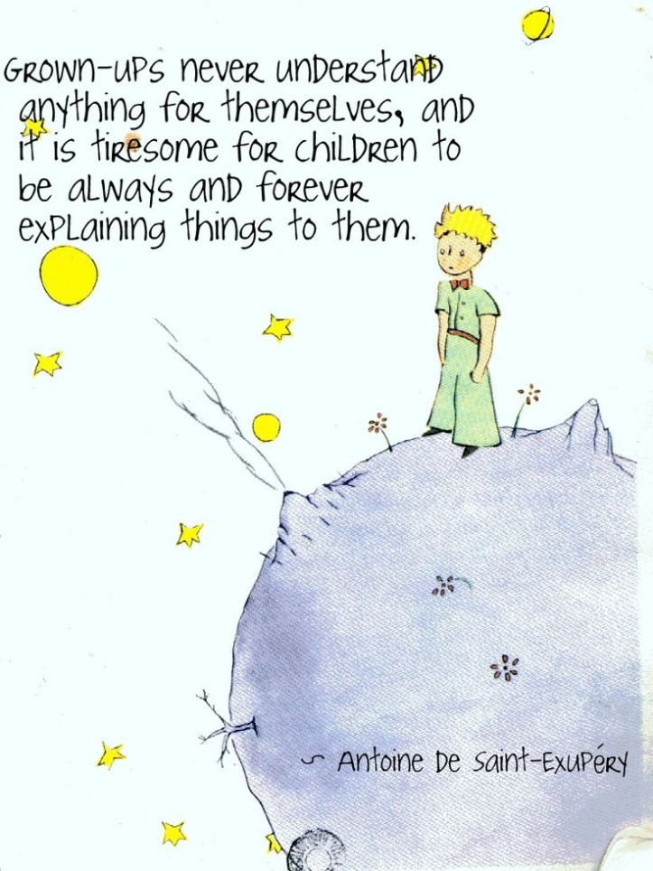 the little prince - saint exupery