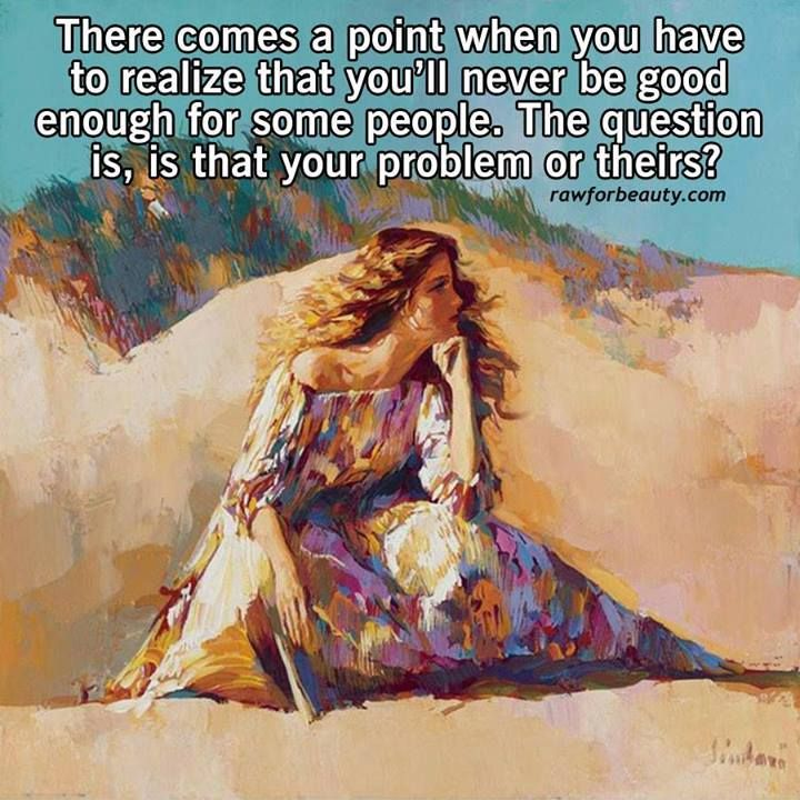 your problem or theirs?