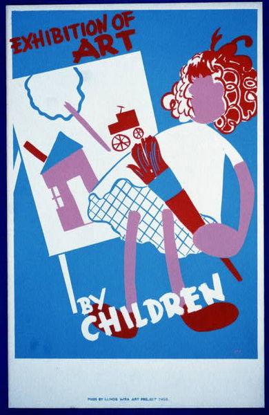 Exhibition_of_art_by_children_LCCN