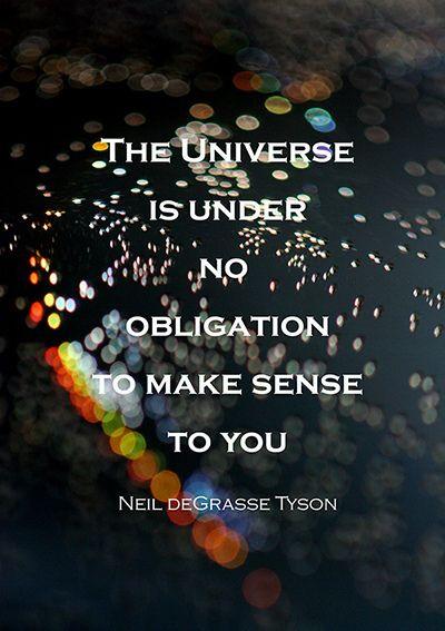The universe - Neil Degrasse Tyson