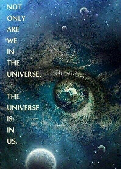The universe within and without