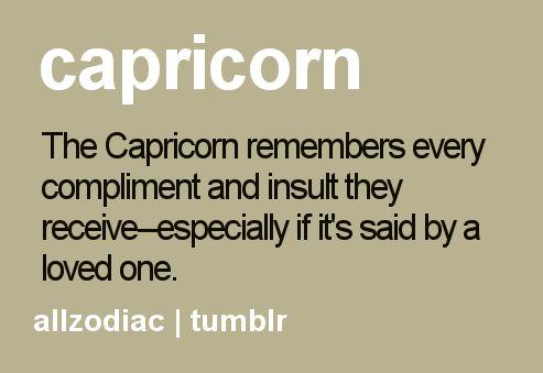 Capricorn memory