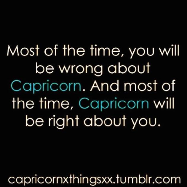 Capricorn perspective