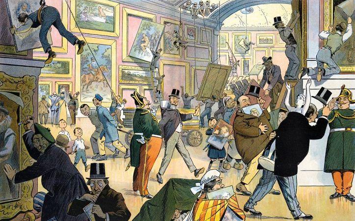 Daily_scene_in_the_Louvre - Samuel Erhart