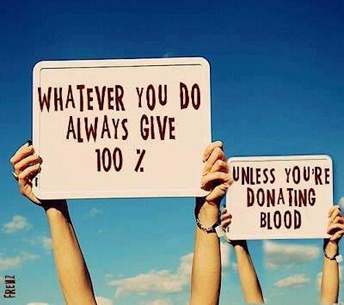 donating humor