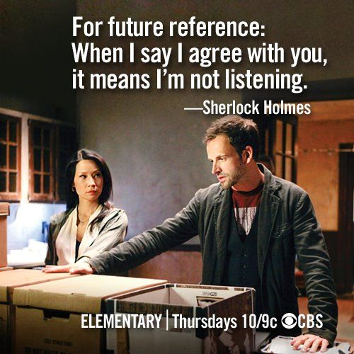 Elementary....?