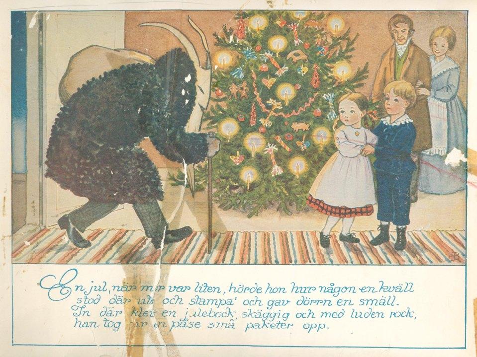 elsa beskow illustration - Julboken