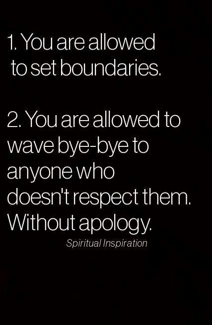 Empathy boundaries