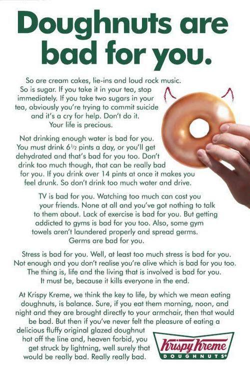 Krisy Kreme - awesome advert