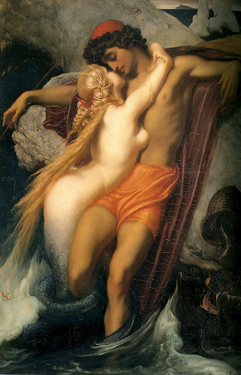 Leighton-The_Fisherman_and_the_Syren-c._1856-1858