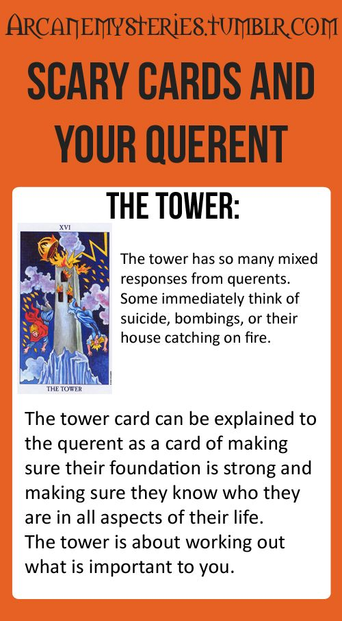 tower card tarot