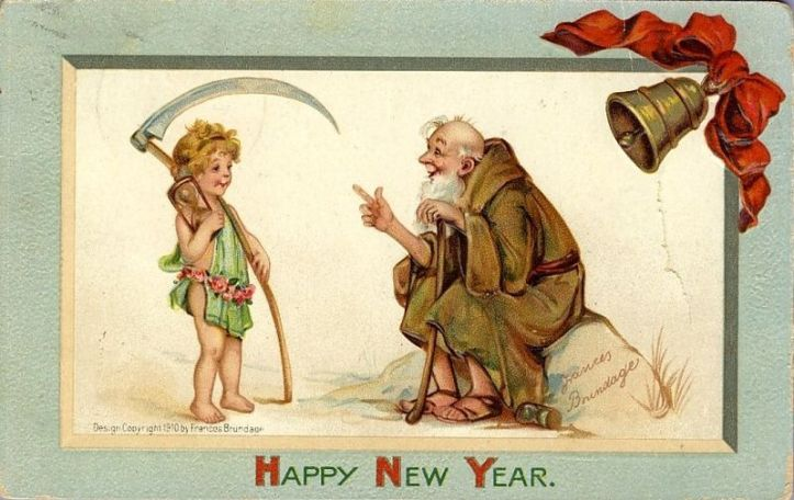 Happy New Year 1910 - Frances Brundage
