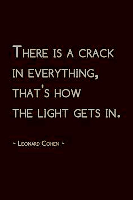 leonard cohen - crack light