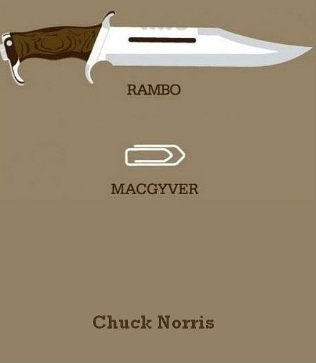 rambo,macgyver,norris