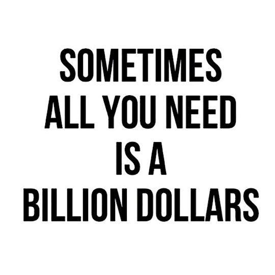 a billion