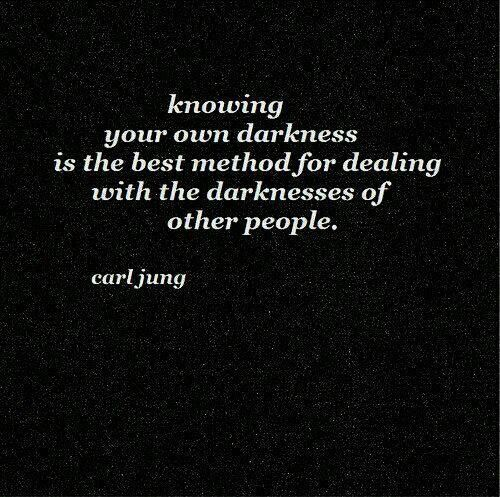 darkness - jung