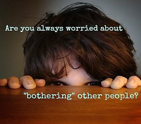 don't bother people