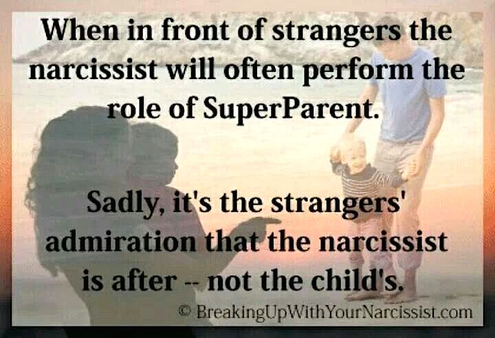 narcissist parents