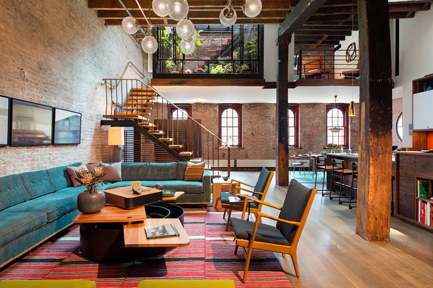 tribeca loft - Andrew Franz Architect