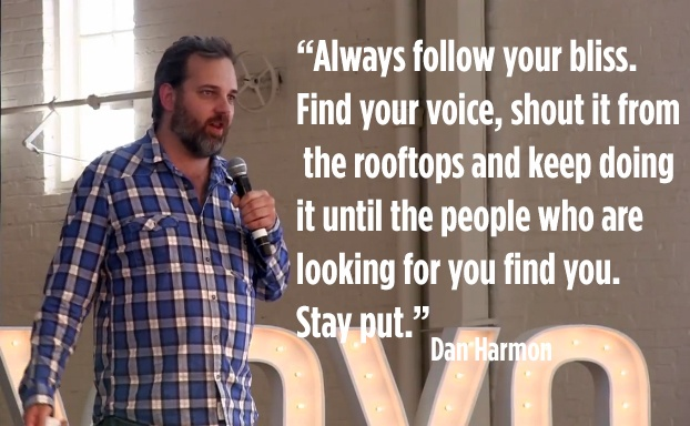 Dan Harmon - be you