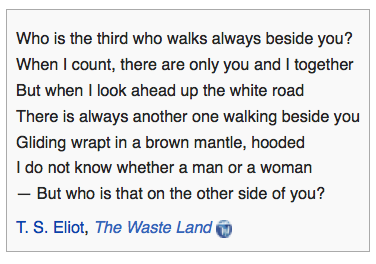 Wasteland, T.S.Eliot