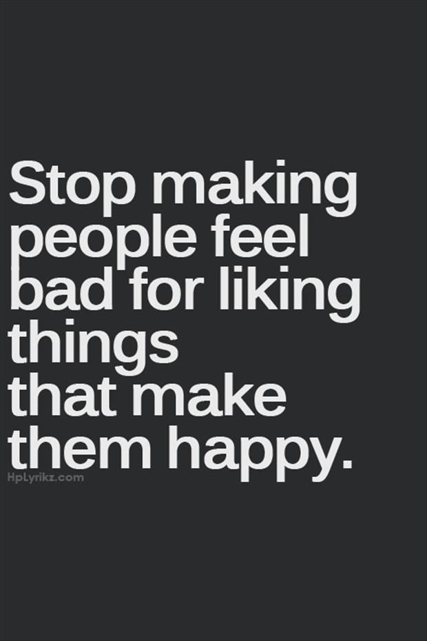 happy has a sad