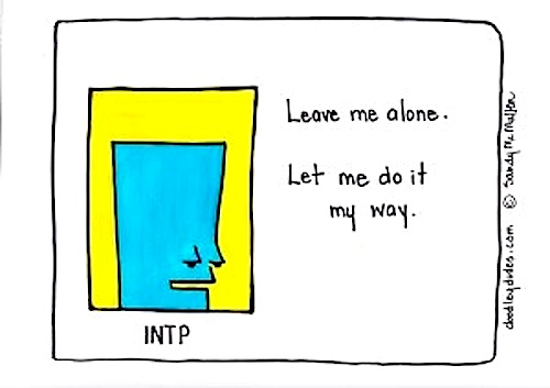 INTP by Sandy McMullen