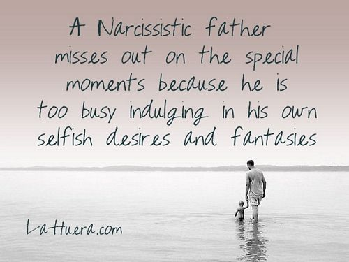 narcissistic father