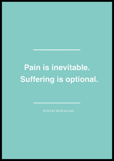 pain:suffering - murakami