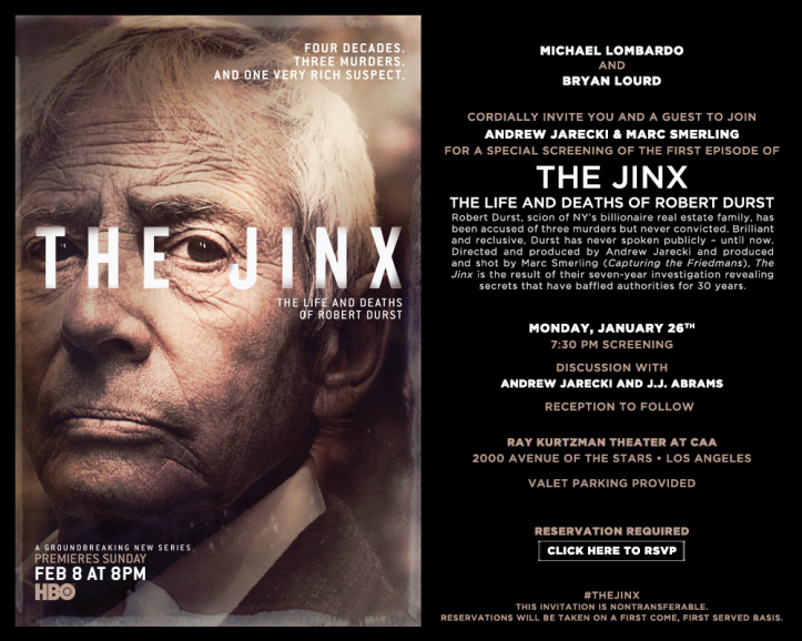 The Jinx poster