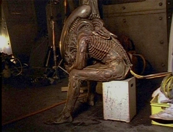 behind the scene - Aliens