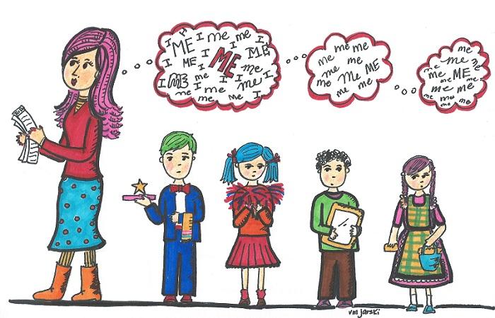 narcissistic-parent illustration - Veronica Jarski