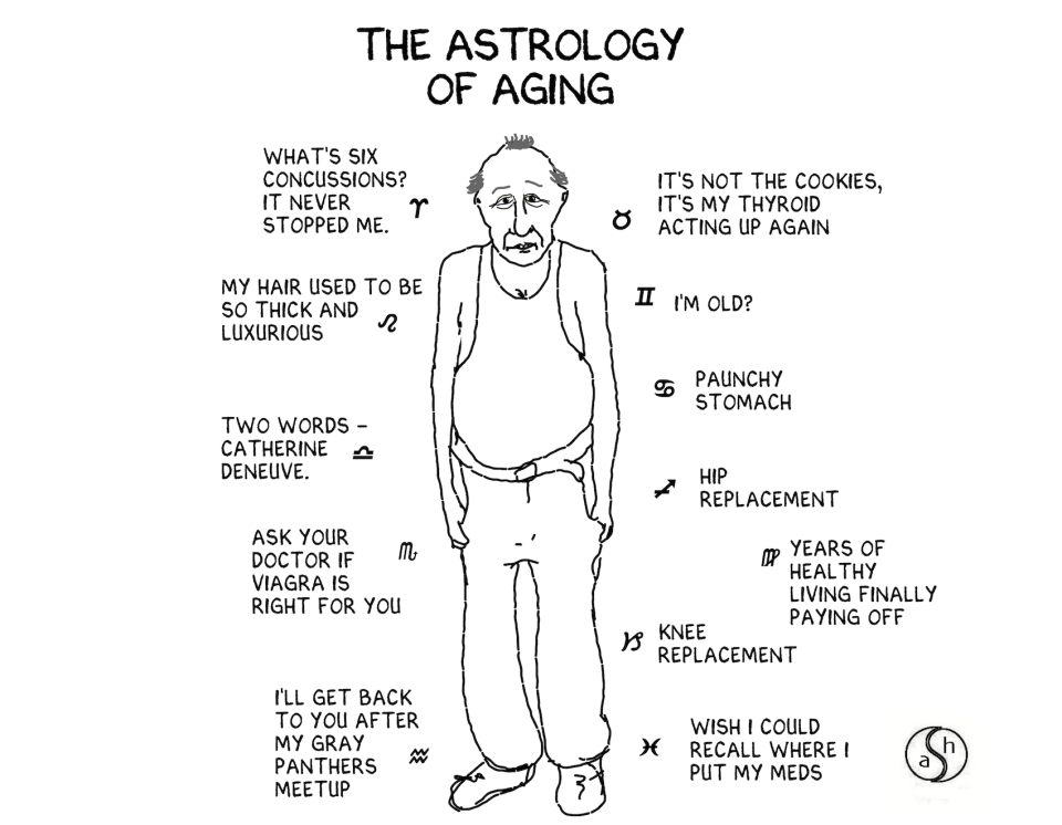 astrology of aging