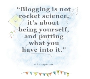 blogging quote