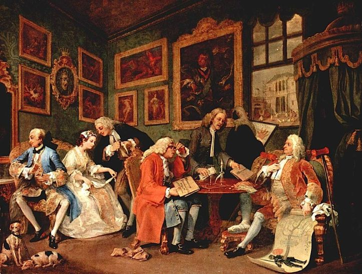 marriage contract-William_Hogarth