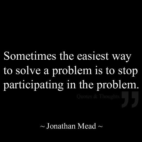 problem - jonathan Mead