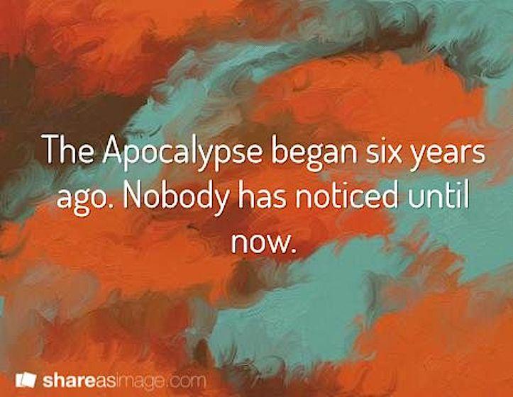 Apocalypse now humor