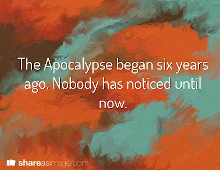 Apocalypse now humor
