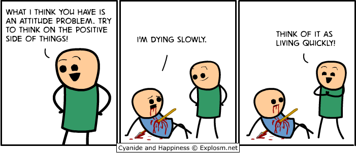 dying slowly:living quickly