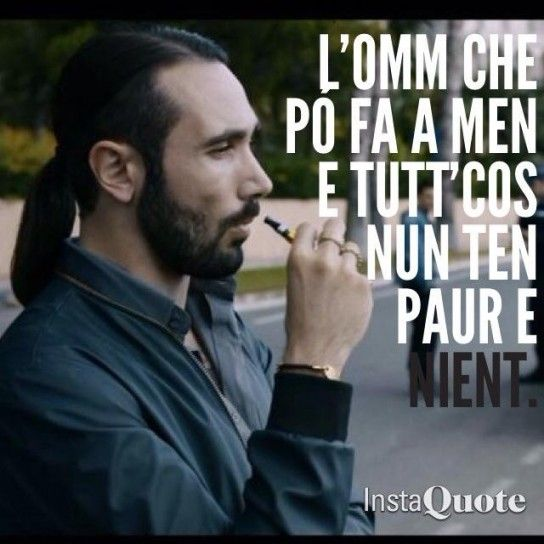 Gomorra quote - Conte - fear of nothing