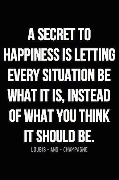 happiness...?