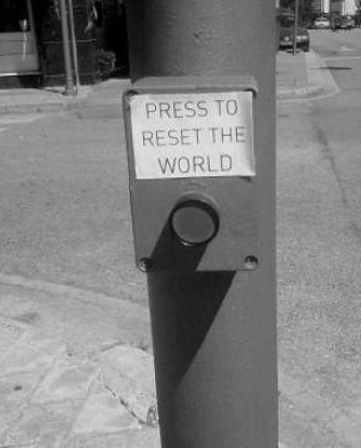 reset the world