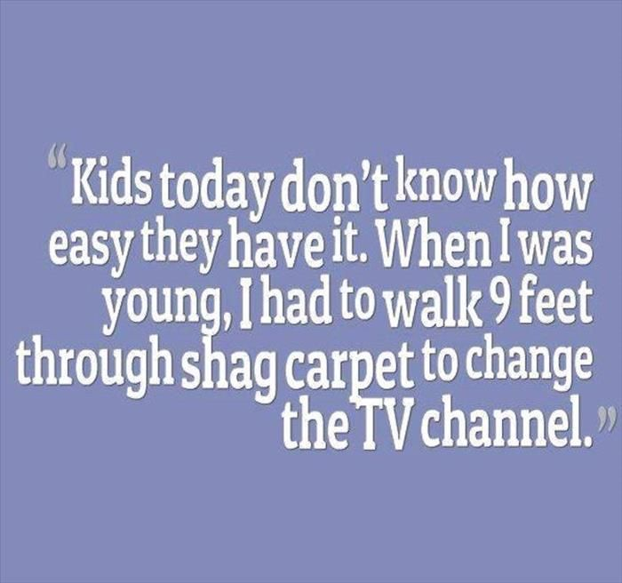 the hard way to change channels