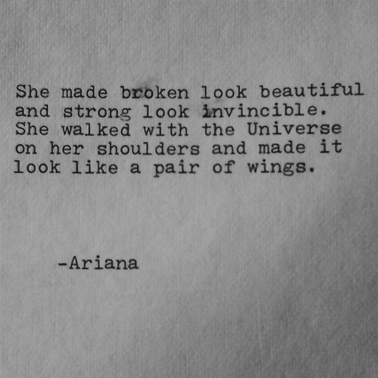 beautiful broken